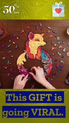 This Exclusive puzzle will fascinate and make you fall in love with it at first touch. 😍 ⠀ ✔ Charming fox Puzzle is not as simple as it seems ✔ Excellent choice for family game nights ✔ Thoughtful gift for every occasion Shop Now 👉🏼www.cooltrendz.co