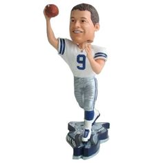 Dallas Cowboys Tony Romo Pennant Base Bobblehead