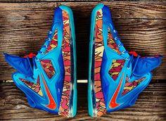 Nike LeBron X China Customs by Gourmet Kickz