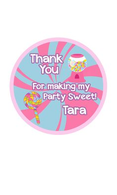 Candy gift tags, Candyland