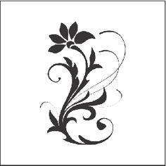 Adesivo de Parede Decorativo Floreali