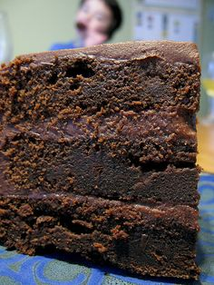 It was Simon's birthday 2 weeks ago and I wanted to make him happy with chocolate... which is something that he loves... So I searched for the best chocolate cake recipe and fell on one on this blo...