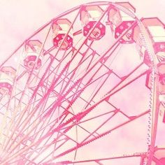 why not have a pink ferris wheel in my dream house?