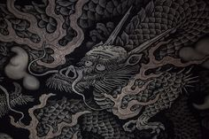 New #Dragon in an old temple in #Japan