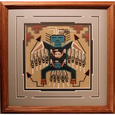 Item 719917 | NAVAJO SAND PAINTING by Keith Silversmith at AANtv.