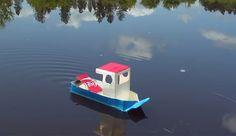 DIY Pop pop boat