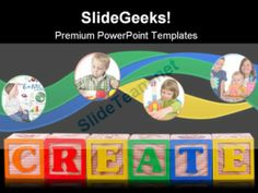 Create Isolated Education PowerPoint Template 1110 #PowerPoint #Templates #Themes #Background
