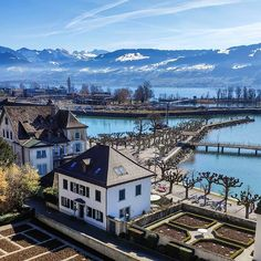 Rooftops of my hometown. I Rapperswil Switzerland, Rooftops, In This Moment, Mansions, House Styles, Instagram, Voyage, Manor Houses, Villas