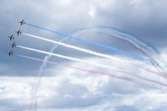 Red Arrows disply- Sunderland Airshow