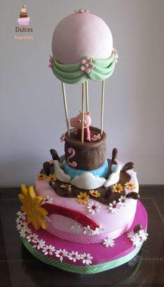 Torta Peppa Pig #TortaPeppaPig #TortasDecoradas