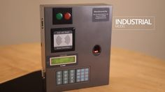#Biometric_Attendance System and #Access_Control for Industries Maintains attendance record of the employee in Industries. Designed for dusty and harsh environments.