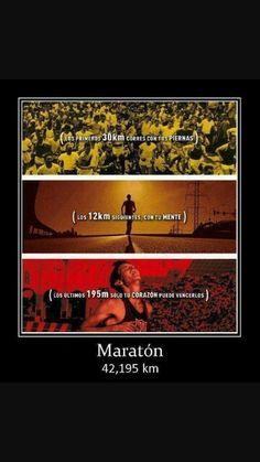 una maraton es una maraton