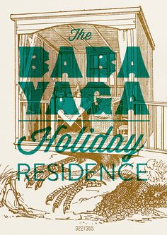 The Baba Yaga Holiday Residence by Hannes Beer.