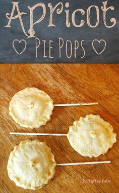 Apricot Pie Pops | The TipToe Fairy