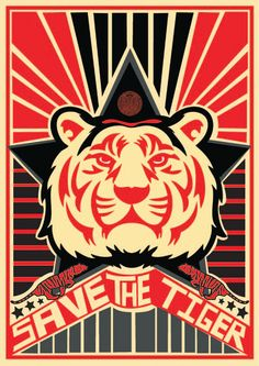 SAVE THE TIGER - THE MOVEMENTS by Lianna Dias, via Behance