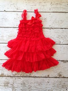 Red vintage inspired lace dress Perfect for the holiday season and special occasions. Great paired with sparkly shoes or boots ! Dress it up or down. Layers of red chiffon and lace trim, adorned with red satin bow. Dress is lined and we suggest to measure for perfect fit. {matching headbands} https://www.etsy.com/shop/PoshPeanutKids/search?search_query=red+headband&order=date_desc&view_type=gallery&ref=shop_search  SIZING GUIDE} Please Measure Prior to Ordering , to ensure proper fit…