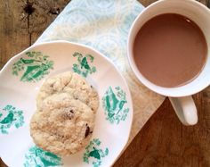 SRC: Coconut Cream Chocolate Chip Cookies from @Holly #cookies #chocolate