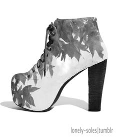 Leaves shoe - LONELY-SOLES