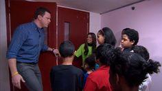 Look inside the renovated homeless shelter for kids