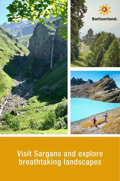 Sargans – learn more about Switzerland's hidden gems Hotel Breaks, Switzerland Tourism, Half Board, Swiss Travel, Culture, Local History, Travel Information, Winter Sports, Countryside