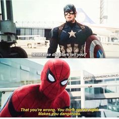 Cap and Spider-Man