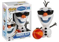 Jual Funko POP! Disney: Frozen - Summer Olaf Harga: Rp 220.000 Maker: Funko