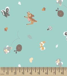 Disney 174 Dumbo Print Fabric Clouds Personalized Fabric