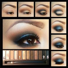 In order to enhance your eyes and also increase your attractiveness, having the very best eye make-up techniques can help. You'll want to be sure you put on make-up that makes you start looking even more beautiful than you are already. Pretty Makeup, Love Makeup, Makeup Looks, Perfect Makeup, Gorgeous Makeup, All Things Beauty, Beauty Make Up, Make Up Yeux, Smoky Eyes
