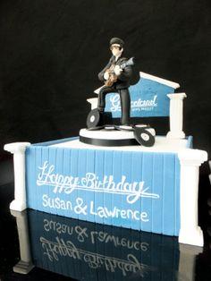 #Elvis, #Cake, #Graceland, #Elvis Cake. www.bakersbakes.co.uk