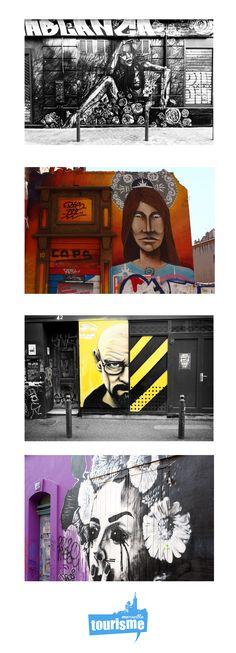 Toujours plus de #graffs sur #Marseille, du #streetart qui vous en met plein la vue ! Ça se passe toujours au cours Julien