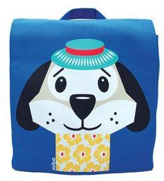 Coq en Pâte Jet Set Pets zomercollectie 2014 rugzak hond Dougie - Little Wannahaves