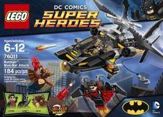 Boys Lego Super Hero Batman Attack Theme for ages 6-12 NEW 184 Pieces #LEGO