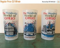 10% off The Wonderful World of Ohio 3 frosted by GoneCountryJunkin