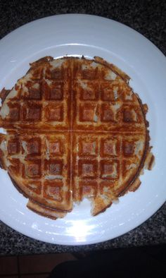 Mashed Potato Waffels.  Best way to heat up left over mashed Potatoes.  Spray waffel iron with canola oil.  After waffel iron heats up add left over mashed potatoes and cook until golden brown.    My said they tasted like french fries.