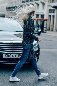 Tags Jeans, Adidas, Stan Smith, Sarah Harris, London, Women, Sneakers, Knitwear, Sweaters, Céline
