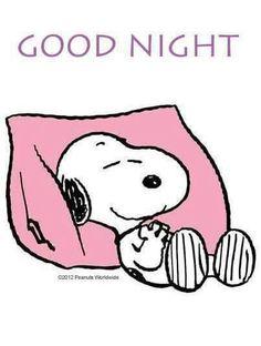 Goof night Snoopy