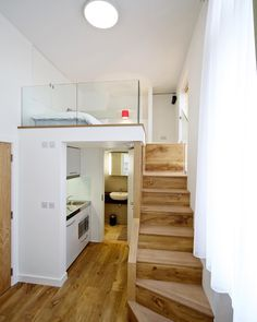 """""""Mi piace"""": 1,129, commenti: 6 - @homify su Instagram: """"If there's one thing we love, it's smart ideas in small spaces. By adding a #loft to this tiny…"""""""
