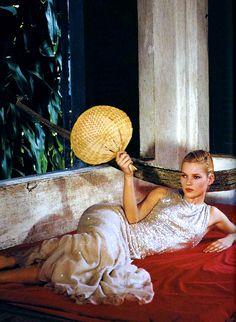 Kate Moss in Good Morning Vietnam by Bruce Weber