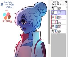 """sleepysenshi: """" uuu thank u anon!! i hope this can explain it :^o i use overlay all the time to make colours more vibrant and to make areas warmer or cooler. good for colourful ambient light (like..."""