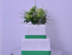 #Tartas de #boda con #flores naturales - Natural flowers wedding cake