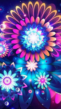 Blue color flowers iPhone 6 Wallpapers.jpg 750×1,334 pixels