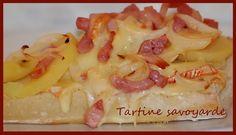 Tartine savoyarde - Une délicieuse tartine gourmande et réconfortante qui fait office de plat complet.