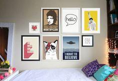 * Posters e quadros: faça você mesmo sua decoração