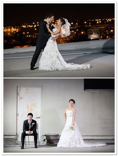 Korean Wedding by Jennifer Fujikawa Photography | Borrowed & Bleu - I like the bride's dress :)
