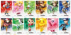 The first wave of #amiibo invade stores on 28/11 !