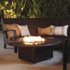 The Stylish Oriflamme Fire Tables Will Stand At The Center Of Attention  While You Sit And