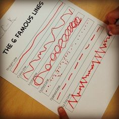 famous lines worksheet. Nice activity for first day after reviewing rules and routines of the art room. Free download.