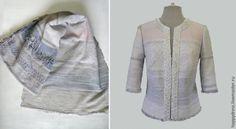 Trendy jacket ... my grandmother's rug - Fair Masters - handmade, handmade