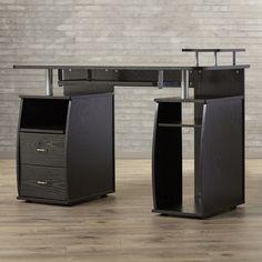Brayden Studio Lunn Computer Desk & Reviews   Wayfair