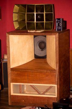 Ultimate Altec VOTT A7 Vintage Classic Hornloaded Speakers | eBay